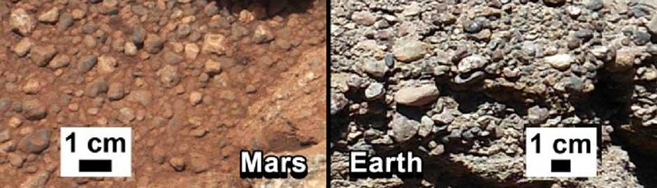 Conglomerati su Marte