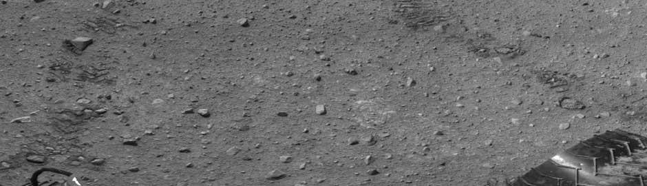 Tracce del Rover Curiosity